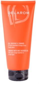 Delarom Body Care pomarańczowy żel pod prysznic i do kąpieli