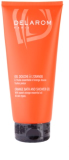 Delarom Body Care gel de dus de portocale