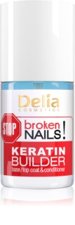 Delia Cosmetics STOP broken nails! Keratin Treatment to Nourish Weakened Nails