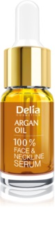 Delia Cosmetics Professional Face Care Argan Oil Intensieve Anti-Aging en Verjongende Serum met Argan Olie voor Gezicht, Hals en Decolleté