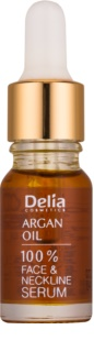 Delia Cosmetics Professional Face Care Argan Oil интензивен регенериращ и подмладяващ серум с арганово масло за лице, врат и деколкте