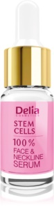 Delia Cosmetics Professional Face Care Stem Cells sérum anti-rides raffermissant intense aux cellules souches visage, cou et décolleté