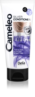 Delia Cosmetics Cameleo Silver Conditioner for Blonde and Grey Hair Neutralizes Yellow Tones
