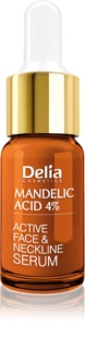 Delia Cosmetics Professional Face Care Mandelic Acid Smoothing Mandeling Acid Serum for Face, Neck and Chest