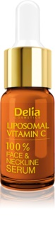 Delia Cosmetics Professional Face Care Vitamin C posvetlitveni serum z vitaminom C za obraz, vrat in dekolte