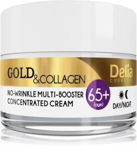 Delia Cosmetics Gold & Collagen 65+ protivráskový krém s regeneračním účinkem