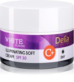 Delia Cosmetics White Fusion C+ Brightening Moisturiser against Hyperpigmentation SPF 30