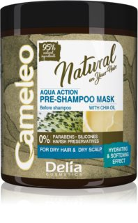 Delia Cosmetics Cameleo Natural pred-šampónová starostlivosť pre suché vlasy