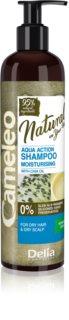 Delia Cosmetics Cameleo Natural hydratační šampon pro suché vlasy