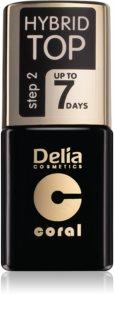 Delia Cosmetics Hybrid Gel żelowy lakier na paznokcie wierzchni