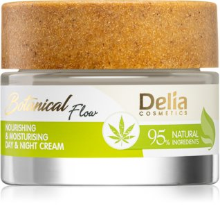 Delia Cosmetics Botanical Flow Hemp Oil crème nourrissante et hydratante
