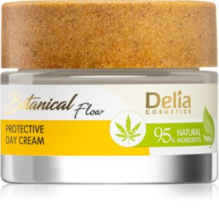 Delia Cosmetics Botanical Flow Hemp Oil creme protetor de dia