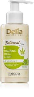 Delia Cosmetics Botanical Flow Hemp Oil καθαριστική λοσιόν προσώπου