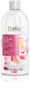 Delia Cosmetics Micellar Water Rose Petals Extract acqua micellare detergente lenitiva