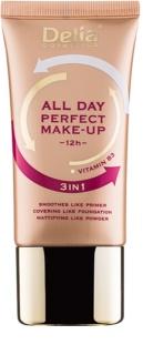 Delia Cosmetics All Day Perfect Foundation 3 In 1