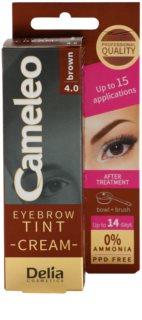 Delia Cosmetics Cameleo Professional Cream Eyebrow Colourant Ammonia - Free