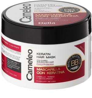 Delia Cosmetics Cameleo BB máscara de queratina para cabelo pintado e com madeixas