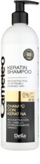 Delia Cosmetics Cameleo BB Shampoo  mit Keratin für beschädigtes Haar