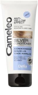 Delia Cosmetics Cameleo Silver condicionador para cabelos loiros e cinzentos neutraliza tons amarelados
