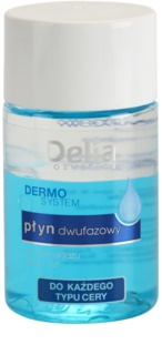 Delia Cosmetics Dermo System Bi-Phase Makeup Remover For Eye Area And Lips