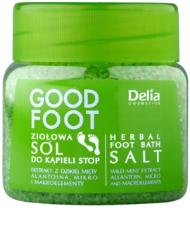 Delia Cosmetics Good Foot zeliščna sol za kopel za noge