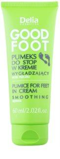 Delia Cosmetics Good Foot pemza na nohy v krému