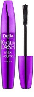 Delia Cosmetics Keratin Lash máscara para dar o máximo de volume