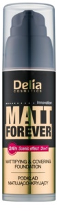 Delia Cosmetics Matt Forever könnyű make-up