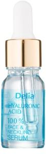 Delia Cosmetics Professional Face Care Hyaluronic Acid інтенсивна сироватка проти зморшок з гіалуроновою кислотою для шкіри обличчя, шиї та декольте