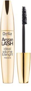 Delia Cosmetics Argan Lash máscara para dar volumen y longitud a las pestañas y para separación entre ellas