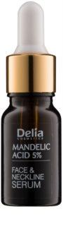 Delia Cosmetics Professional Face Care Mandelic Acid kisimitó szérum mandula savval arcra, nyakra és dekoltázsra