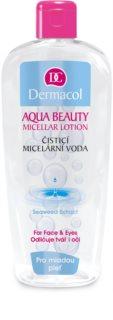 Dermacol Aqua Beauty Reinigende Micellair Water  voor Jonge Huid