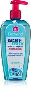 Dermacol Acneclear Reinigungsgel zum Abschminken für unreine Haut