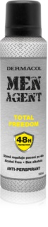 Dermacol Men Agent Total Freedom antitranspirante em spray