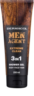 Dermacol Men Agent Extreme Clean Douchegel  3in1