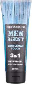 Dermacol Men Agent Gentleman Touch gel de duche 3 em 1
