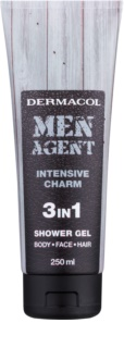 Dermacol Men Agent Intensive Charm Douchegel  3in1