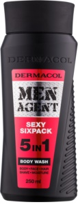 Dermacol Men Agent Sexy Sixpack gel duche 5 em 1