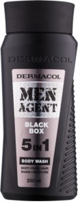 Dermacol Men Agent Black Box gel de duche 5 em 1
