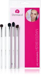 Dermacol Master Brush by PetraLovelyHair set de brochas para sombras de ojos
