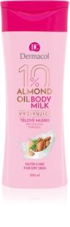 Dermacol Body Care Almond Oil tápláló testápoló krém száraz bőrre