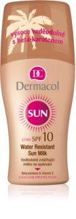 Dermacol Sun Water Resistant vízálló napozótej SPF 10