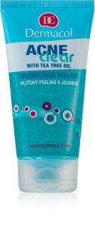 Dermacol Acneclear exfoliante de rosto para pele problemática