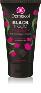 Dermacol Black Magic masque peel-off détoxifiant
