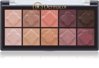 Dermacol Matt & Pearl paleta sjenila za oči