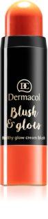 Dermacol Blush & Glow blush crème (éclaircissant)