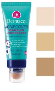 Dermacol Acnecover base e corretor para pele problemática, acne