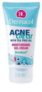 Dermacol Acneclear hydratisierende Gel-Creme für problematische Haut, Akne