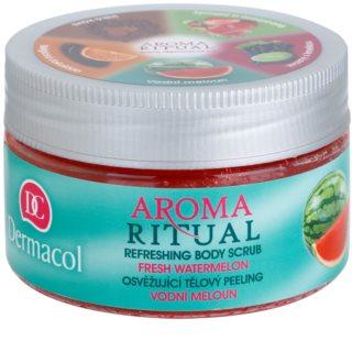 Dermacol Aroma Ritual Exfoliant pentru corp cu efect de improspatare.