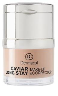 Dermacol Caviar Long Stay corrector y maquillaje de larga duración con extractos de caviar